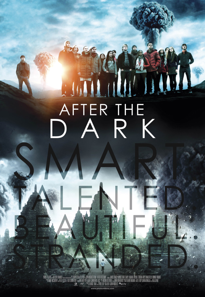 AFTER THE DARK.  James D'Arcy, Erin Moriarty, Maia Mitchell, Freddie Stroma, George Blagden. Nominated for Best Picture at Sitges, 2013.